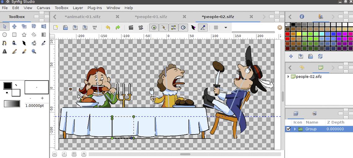 Делаем анимацию из картинок онлайн